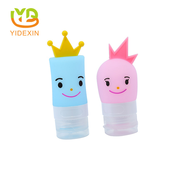silicone travel refillable bottles