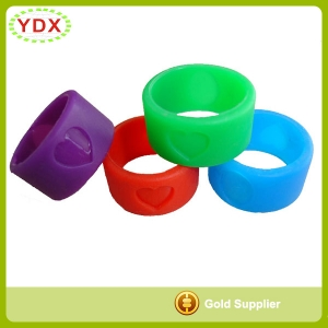Soft Silicone Rubber Finger Ring