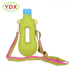 Kids Drinking Sports Outdoor Silicone Water Bottle