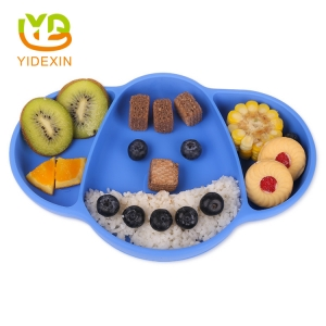 Integrated Elephant Silicone Dish