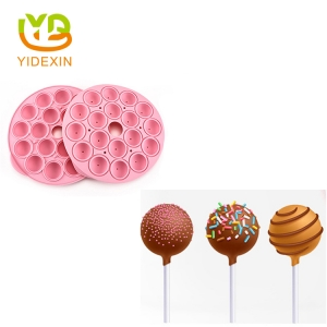 Silicone Lollipop Chocolate Ball Mould
